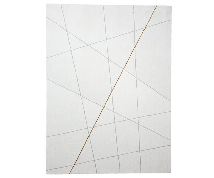 tapete listra color cinza e mostarda 1310G