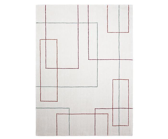 tapete retângulos coloridos 1311G