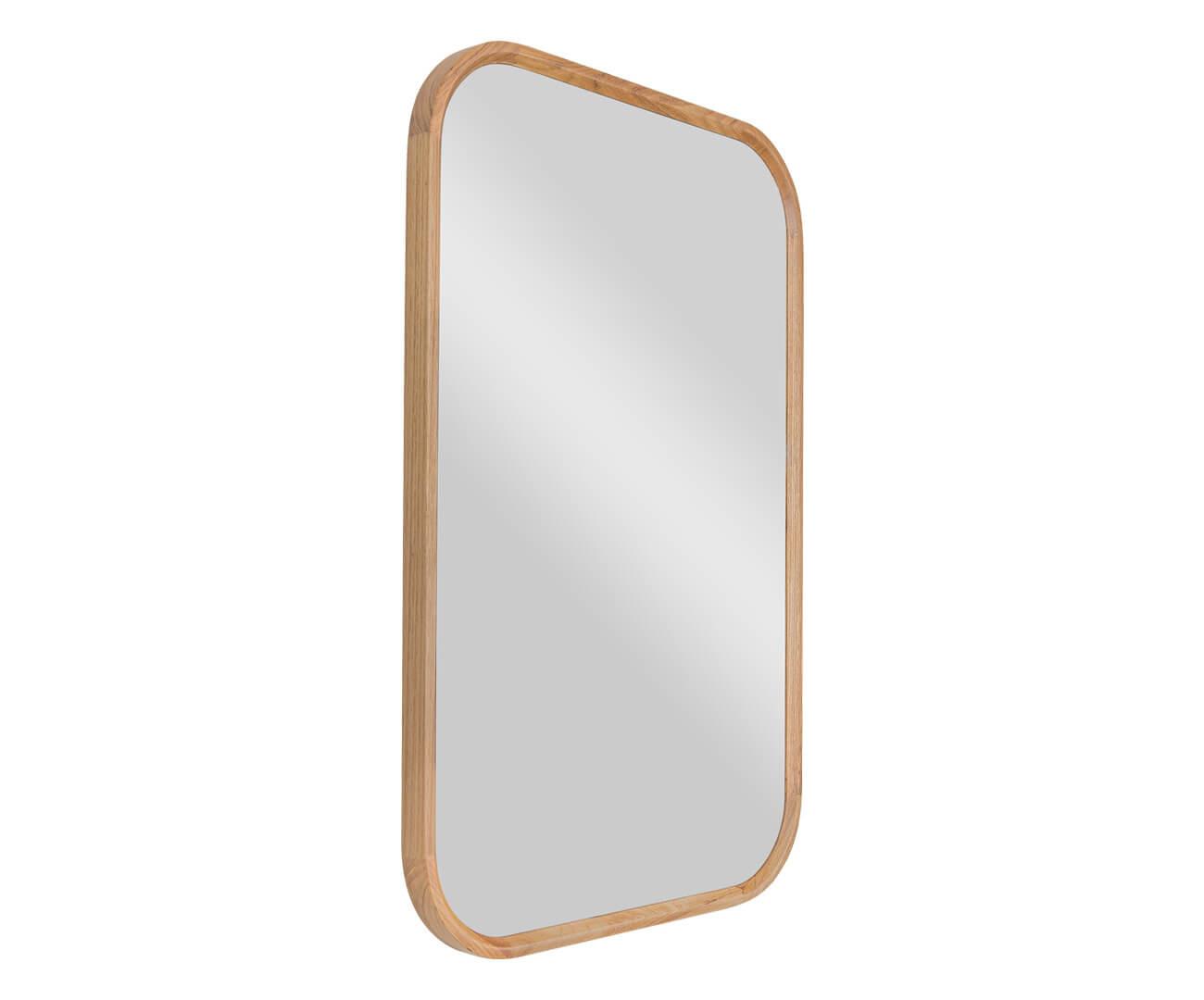 espelho retangular em madeira oslo 1345