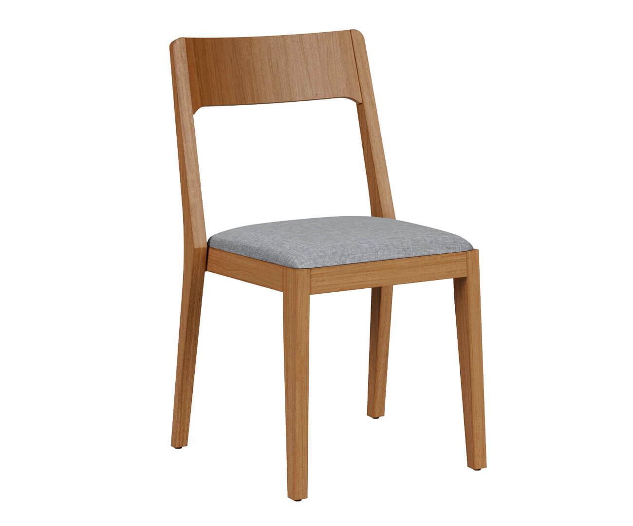 cadeira empilhável em madeira maciça vic 1368