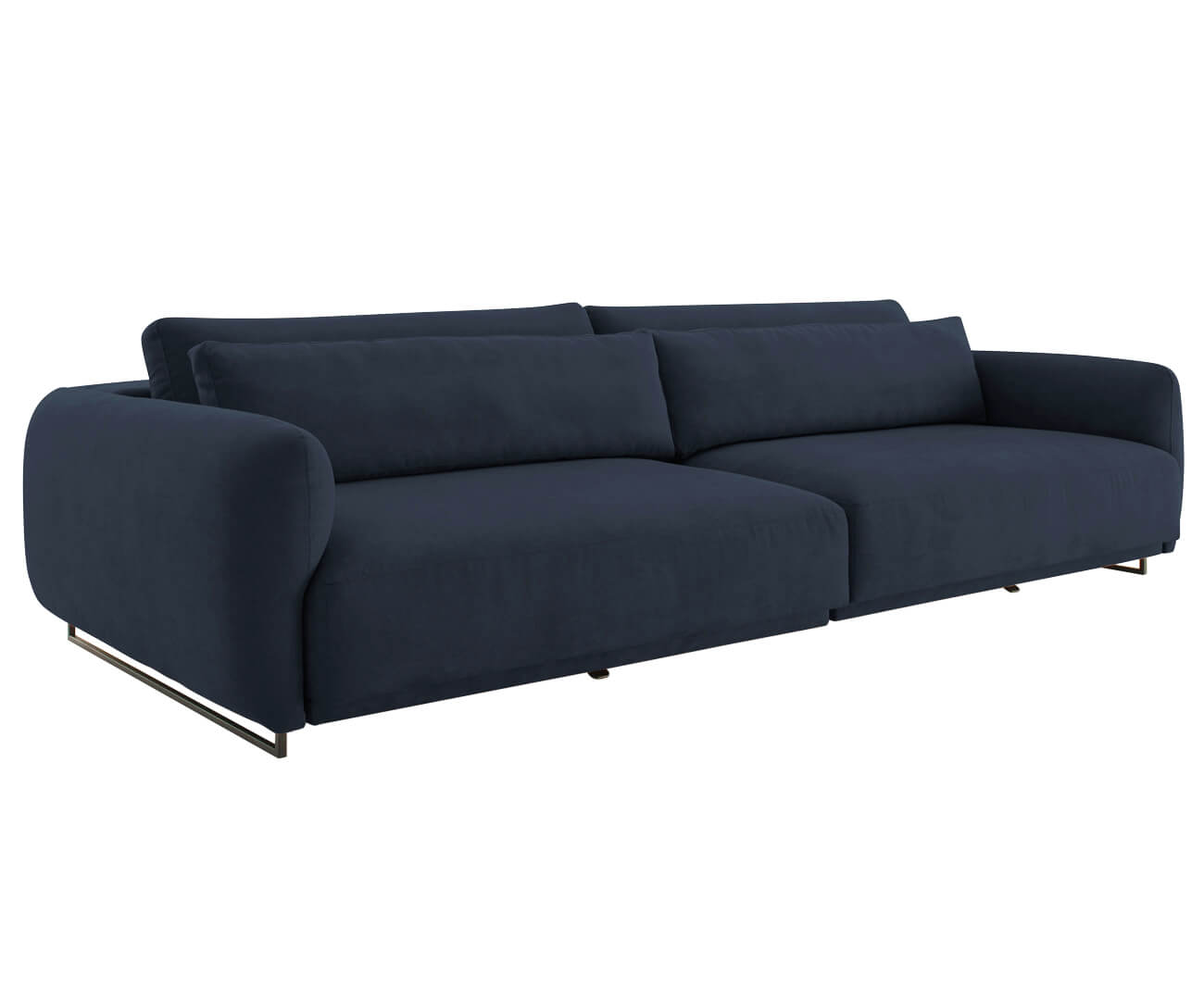 sofá retrátil em molas 3 lugares upper 1382