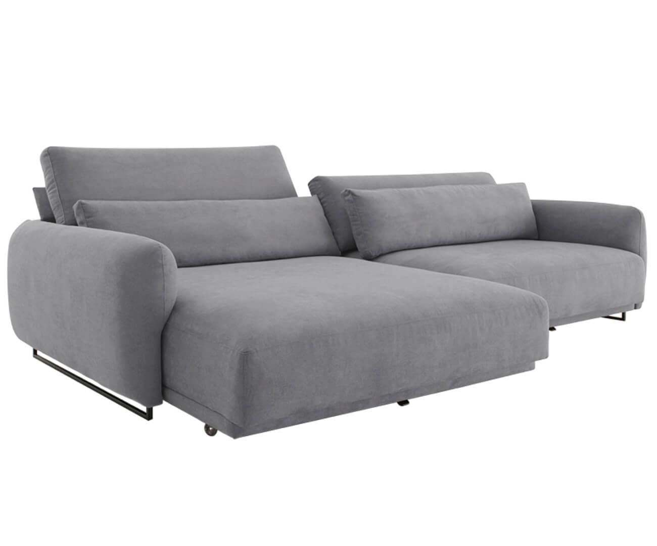 sofá retrátil em molas 4 lugares upper 1383