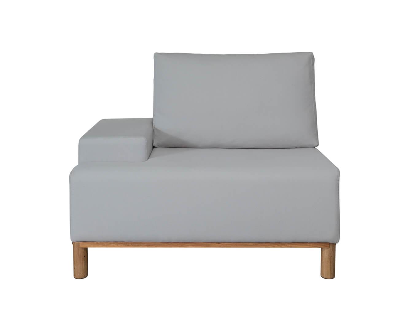 módulo com braço esquerdo - sofá modular 203 1392