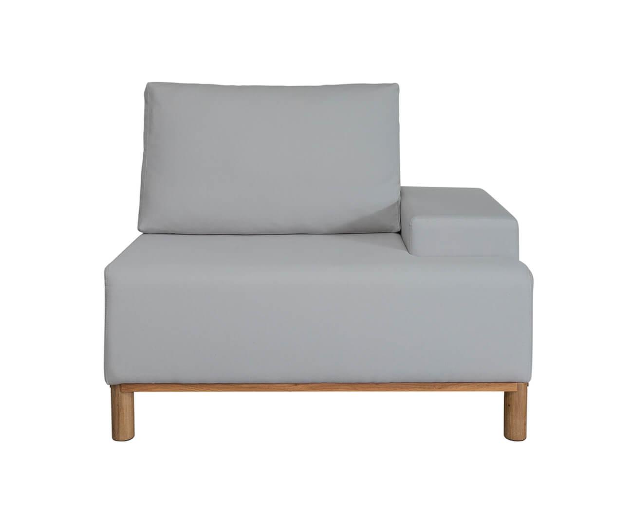 módulo com braço direito - sofá modular 203 1393