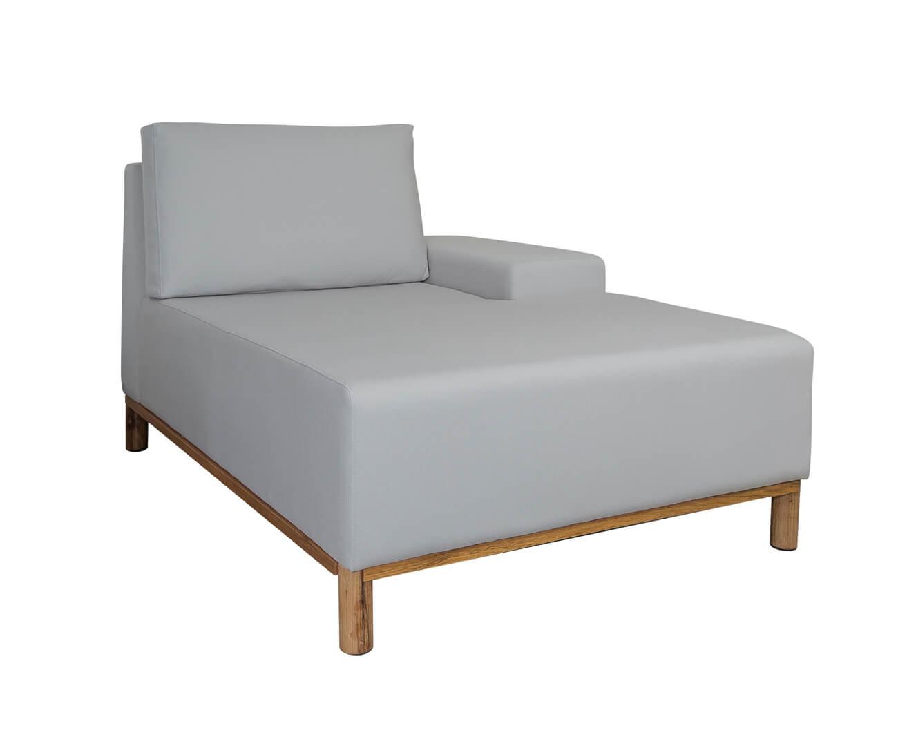 módulo chaise braço direito - sofá modular 203 1394