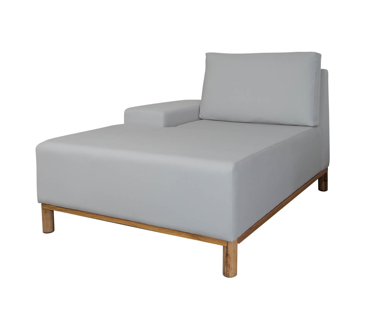 módulo chaise braço esquerdo - sofá modular 203 1395