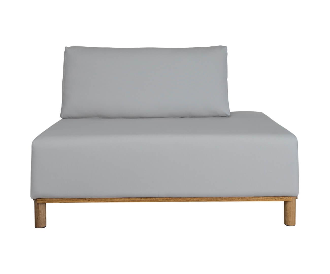 módulo recamier terminação direita - sofá modular 203 1396