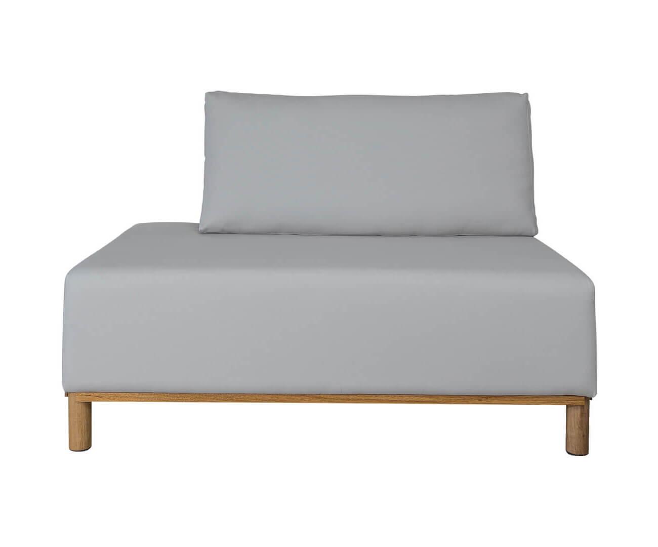 módulo recamier terminação esquerda - sofá modular 203 1397