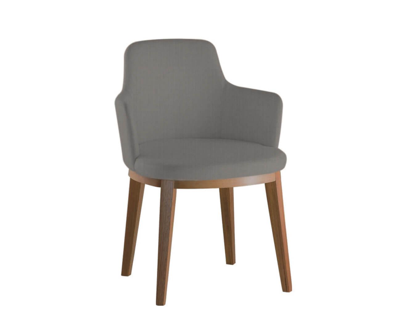 cadeira com braços estofada maxime 0715