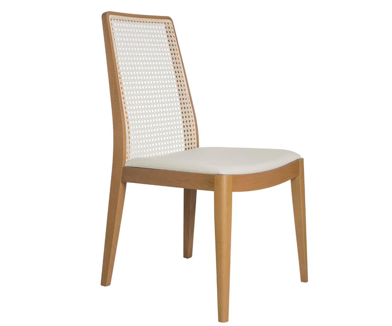 cadeira em palha natural bene 1086