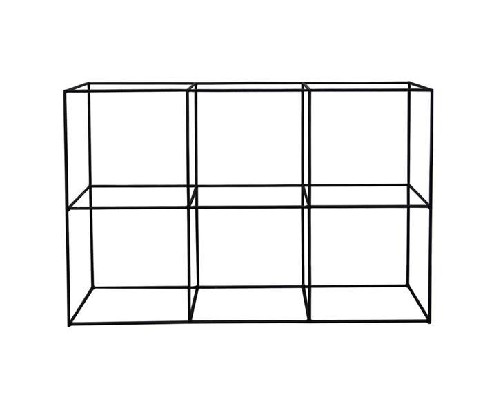 estante de metal vergalhão cubic baixa 0865 estante rack de metal vergalhão 1