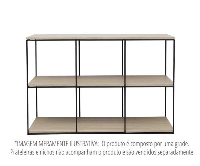 estante de metal vergalhão cubic baixa 0865 estante rack de metal vergalhão 2