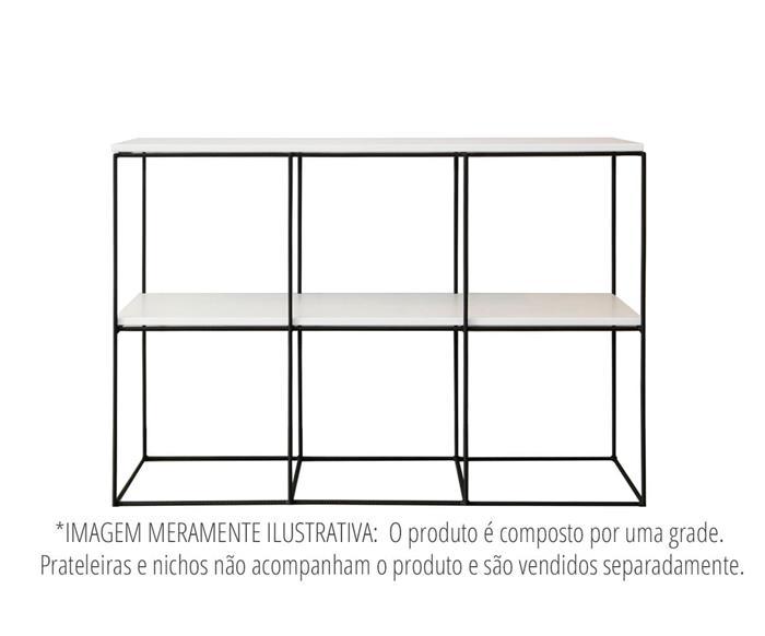 estante de metal vergalhão cubic baixa 0865 estante rack de metal vergalhão 3