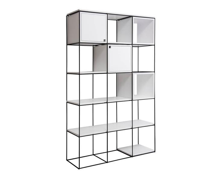 estante de metal vergalhão cubic 0825 estante de metal vergalhão vira