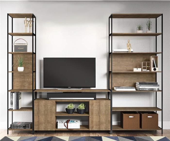 estante em metal e madeira camden grande 0926 estante em metal e madeira com prateleiras vira