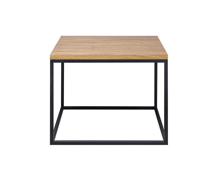 mesa em metal e madeira cube 1305 mesa em metal e madeira cube
