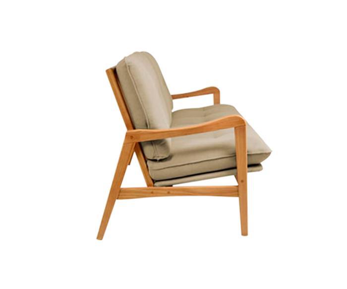 sofá em madeira maciça escandinávia 1058 sofá em madeira maciça e linho bege cru 3