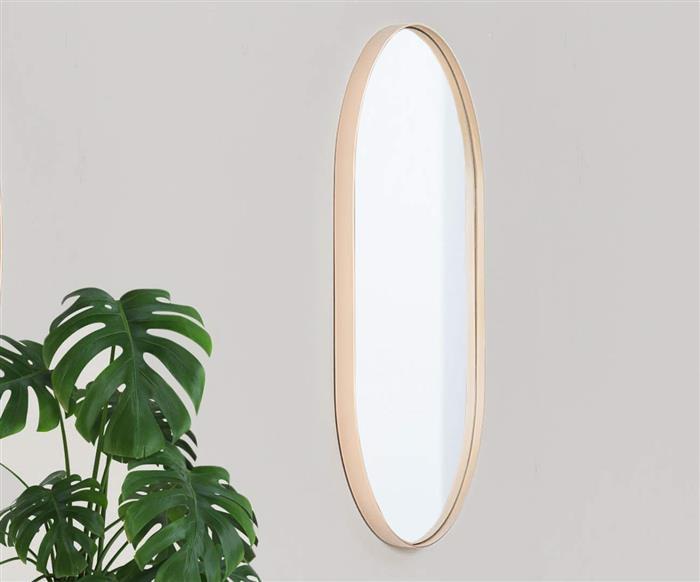espelho oval dourado asturias 1137 espelho oval dourado asturias