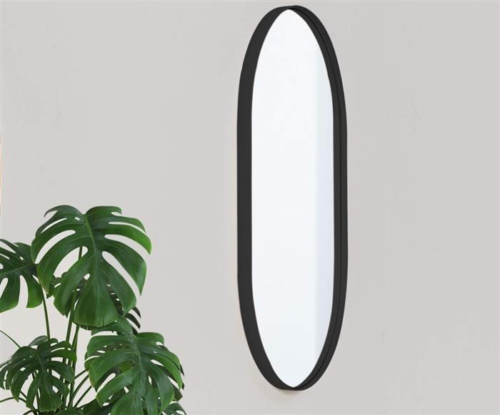 espelho oval preto asturias 1138 espelho oval preto asturias