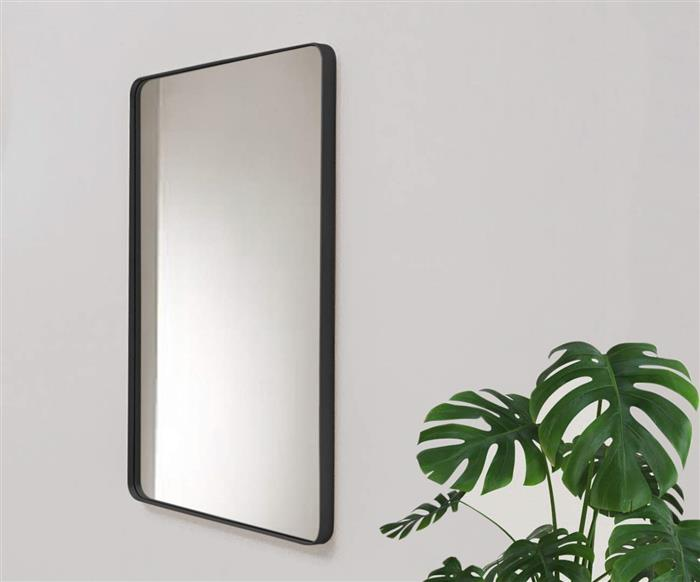 espelho retangular preto ibiza 1133 espelho retangular preto ibiza