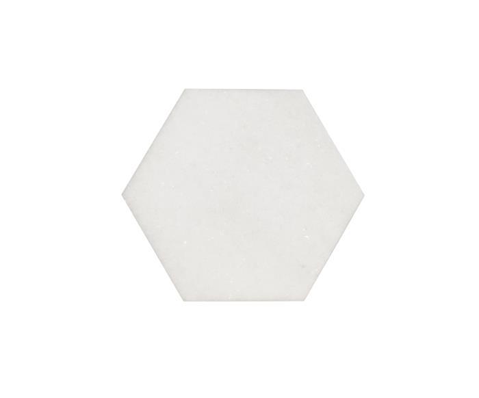 bandeja em mármore hexagonal 0838 bandeja em mármore hexagonal