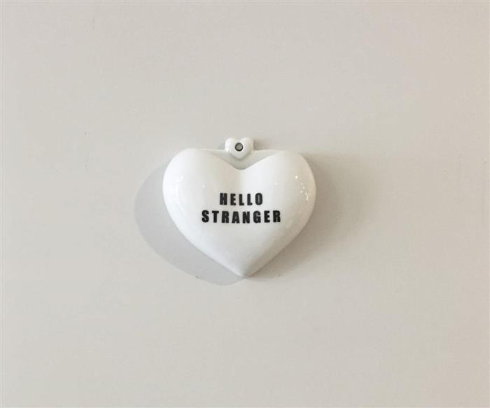 vaso de parede coração (hello stranger) 0870 vaso de parede coração (hello stranger)
