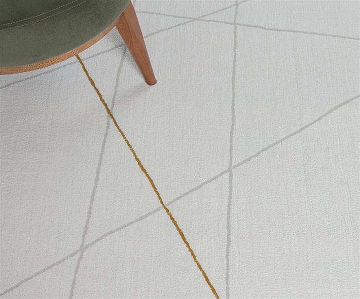 tapete listra color cinza e mostarda 1310G tapete listra color cinza e mostarda