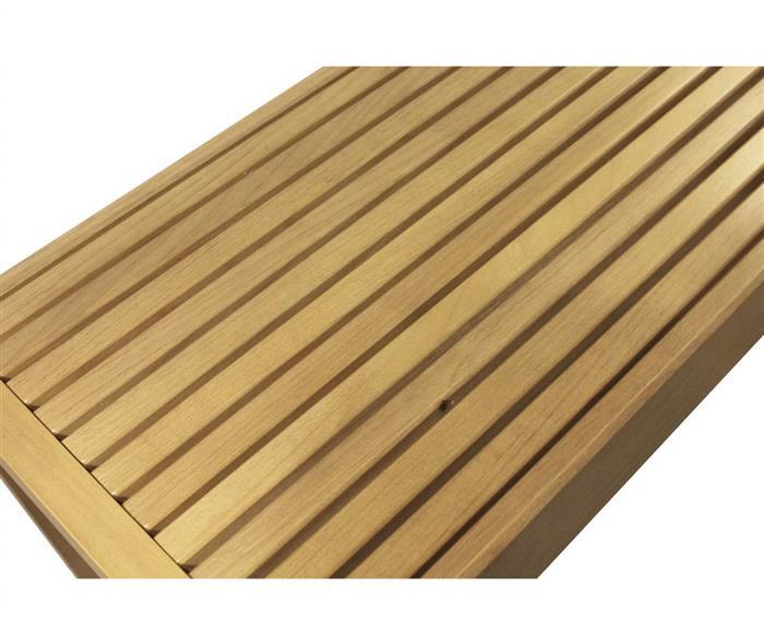 banco ripado em madeira maciça oslo 0986 banco ripado de madeira