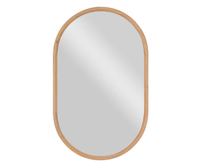espelho oval em madeira oslo 1346 espelho oval em madeira oslo