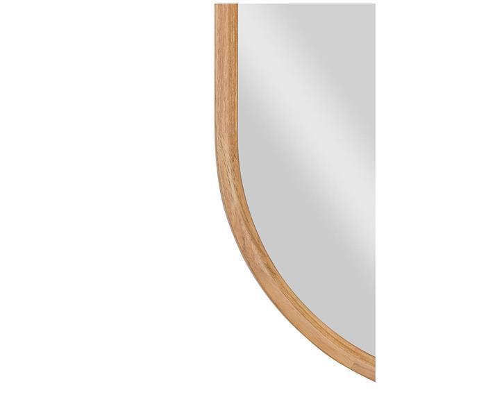 espelho oval em madeira oslo 1346 detalhe espelho oval em madeira oslo