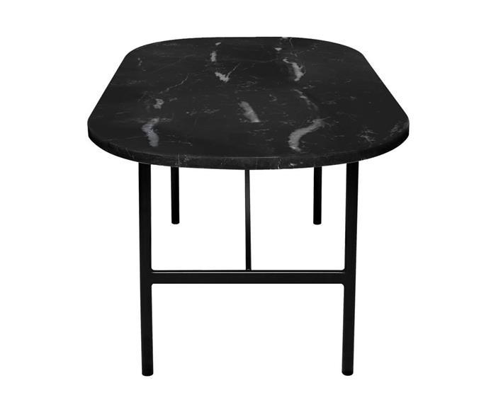 mesa de centro oval em granito via láctea drops 1352 mesa de centro oval em granito via láctea drops