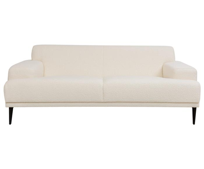 sofá com tecido bouclê rive gauche 1402G sofa tecido boucle