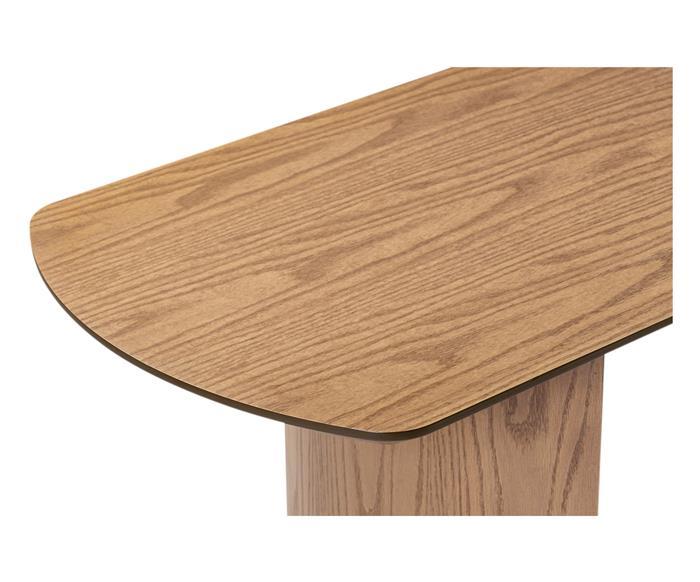 mesa de centro oval em madeira valencia 1412