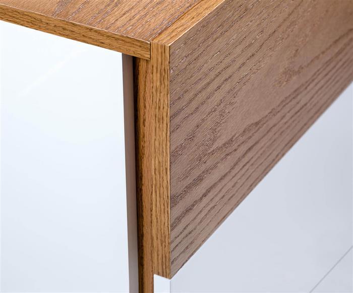 cômoda em laca e madeira luv 4 gavetas 1277 cômoda em laca branca e madeira luv 4 gavetas
