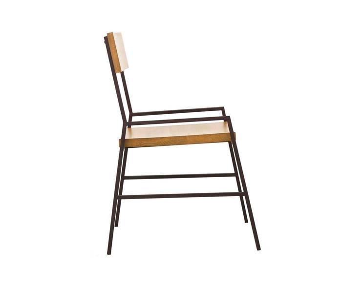 cadeira em madeira maciça e metal mescla 1288 cadeira em metal e madeira 2