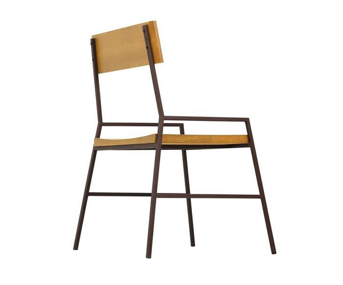 cadeira em madeira maciça e metal mescla 1288 cadeira em metal e madeira  3